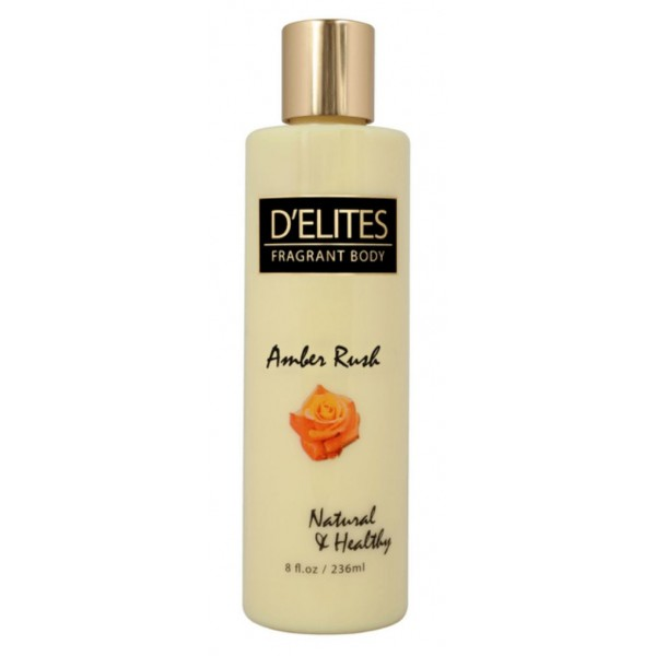 D'Elites Body Lotion Amber Rush 236 ml
